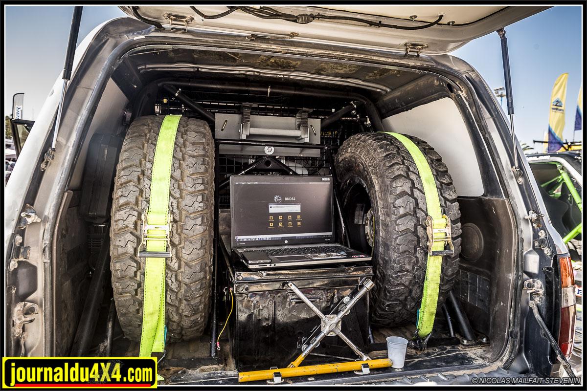 l'aménagement du coffre du HDJ 80
