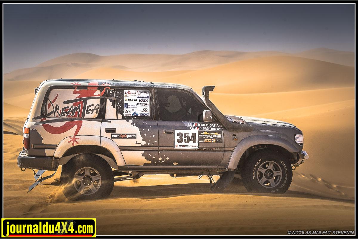 HDJ80 de course préparé par Dream Team Car