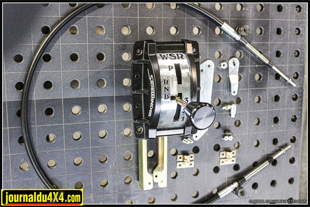 Shifter pour boîte auto Land Rover 4HP22 ou 4HP24