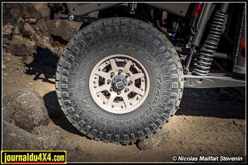 Nitto Trail Grappler en 40x13 50R 17