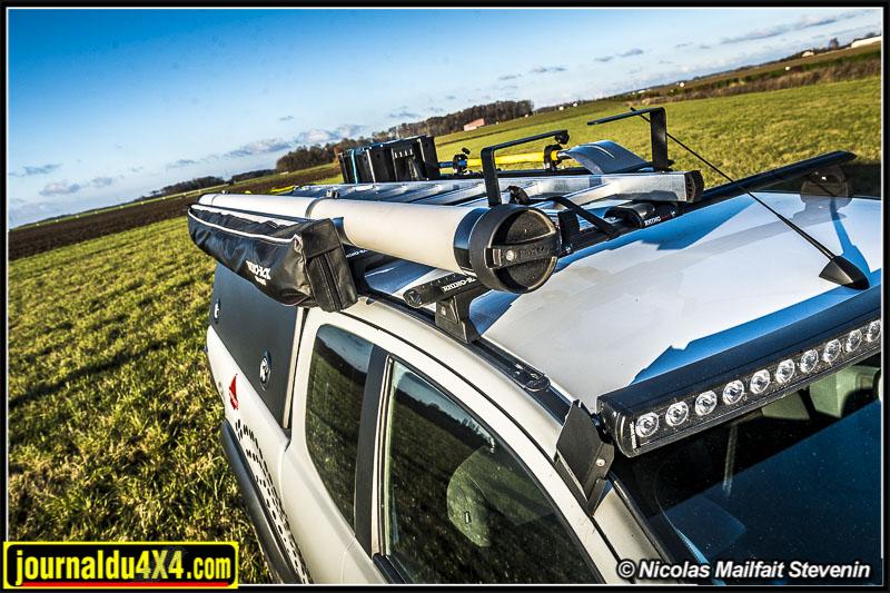 Galerie pour Ford Ranger Rhino Rack