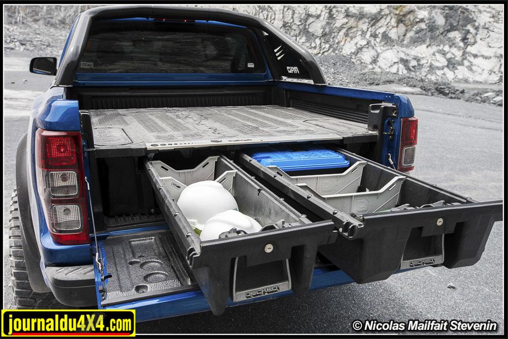 Decked : des tiroirs pour pick up chez RSC 4×4