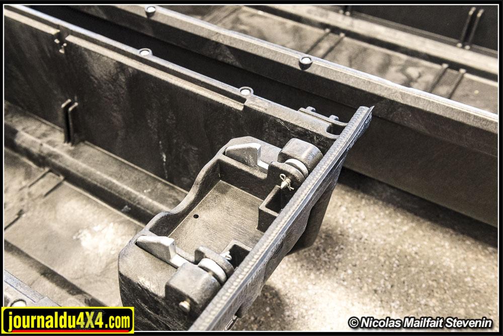 Les fermetures en aluminium sont robustes.
