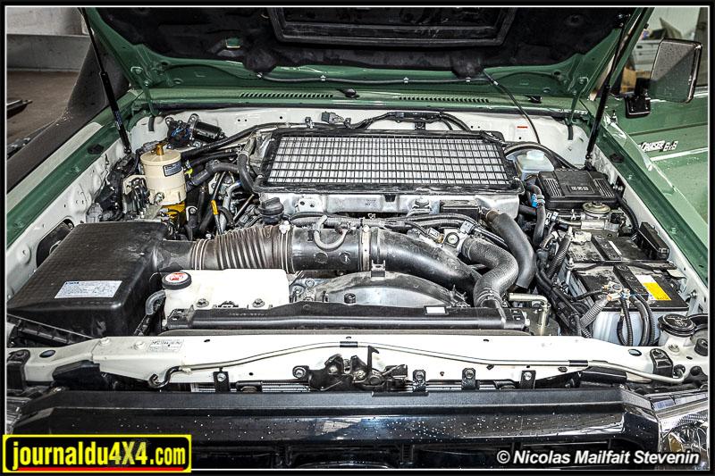 Moteur V8 diesel 4.5 l du VDJ 200