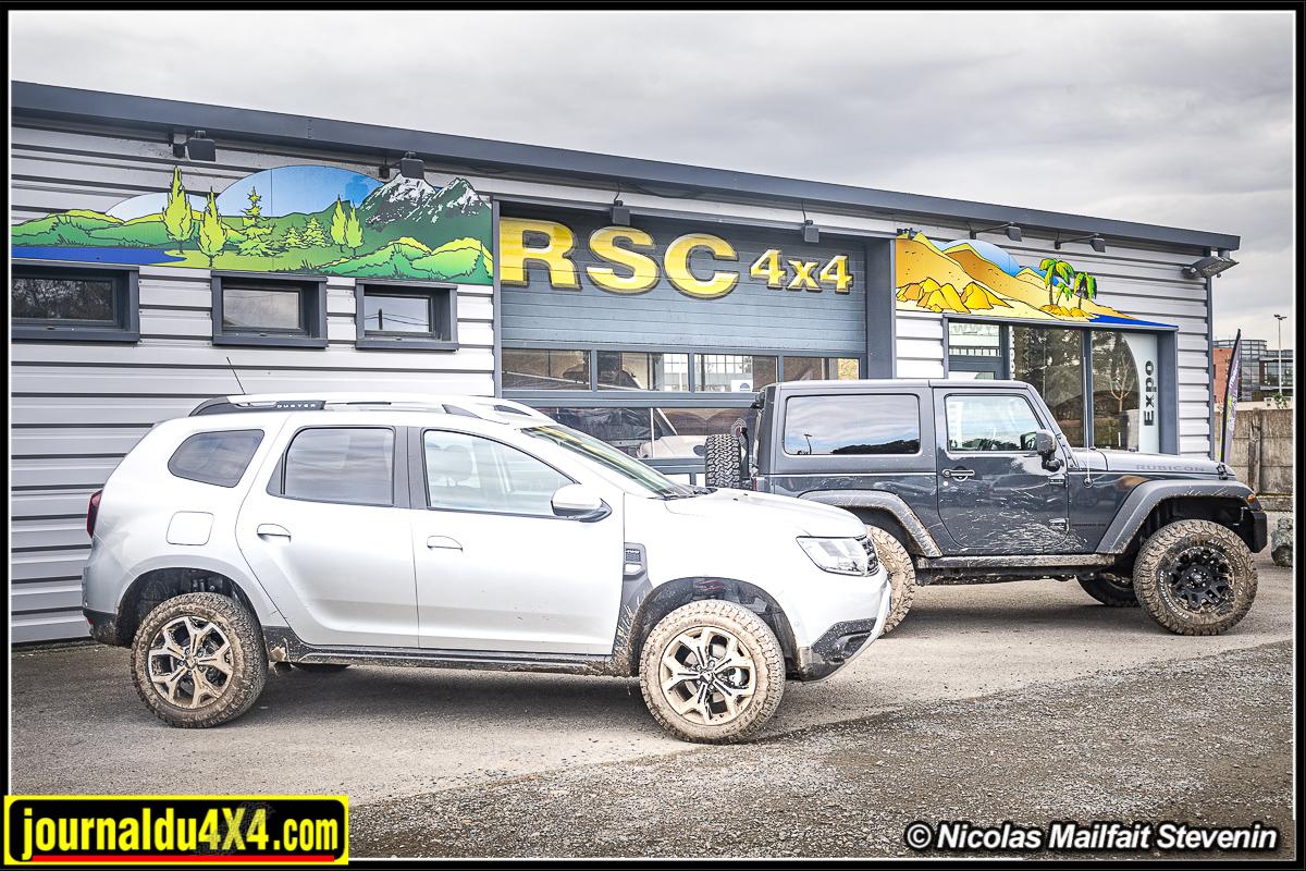 Dacia Duster préparation RSC 4×4