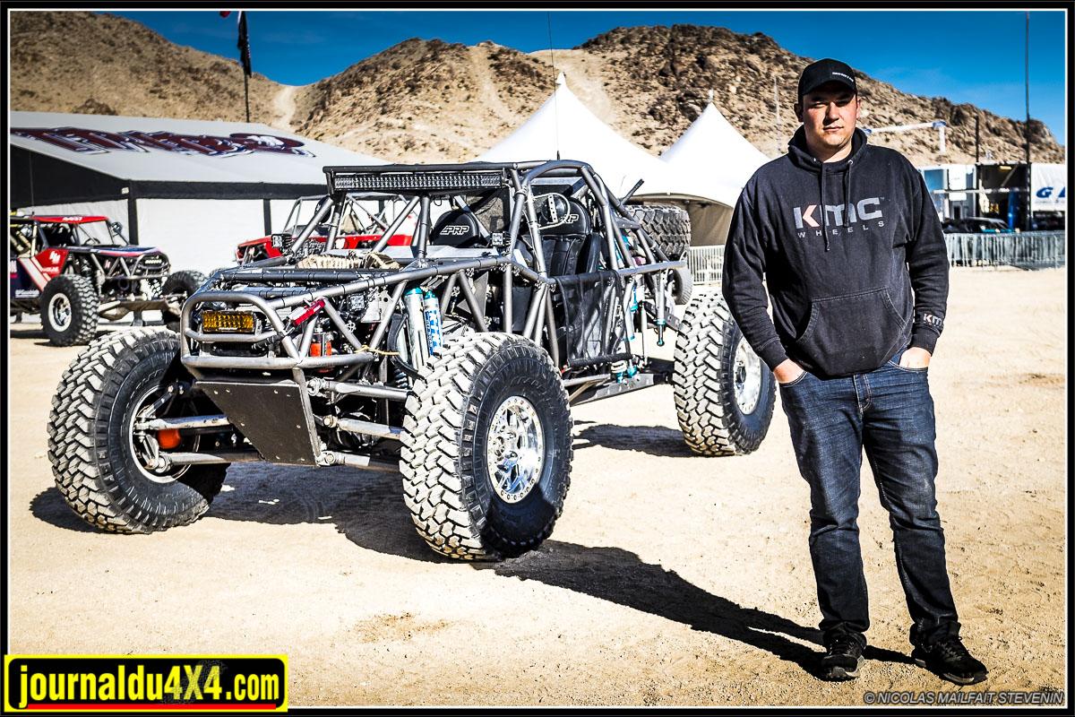 Bailey Cole Ultra4 racer