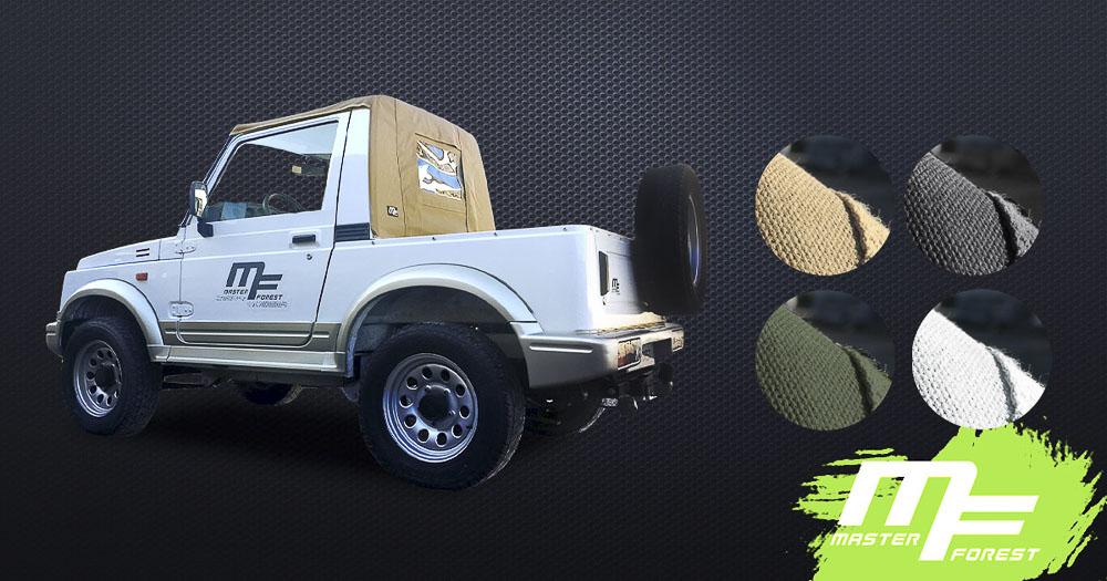 Bâche Pickup Masterforest pour Samuraï