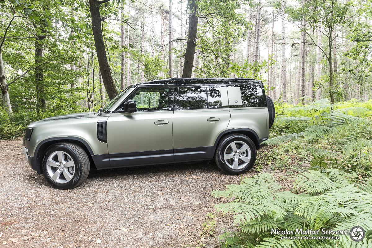 Essai nouveau Land Rover Defender 2020 P400