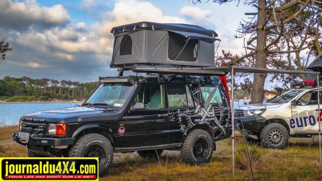 Euro 4x4 Parts propose des tentes de toit rigides