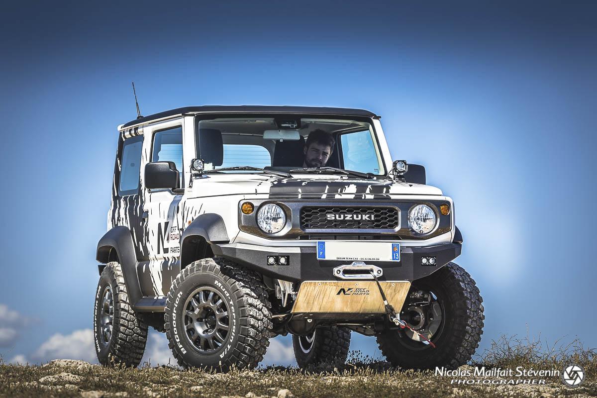 Il a belle allure le Suzuki Jimny, vous ne trouvez pas ?
