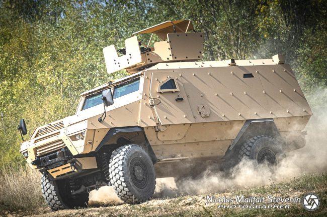 ARQUUS Fortress Mk 2 véhicule blindé 4x4 de transport de troupe