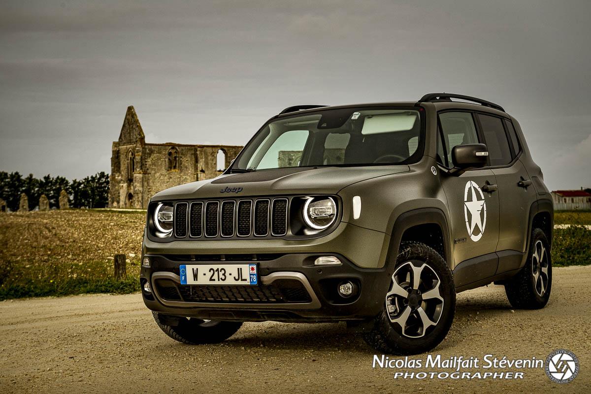Jeep Renegade 4xe Trail Hawk, hybride rechargeable et bonus