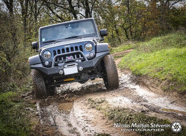 Rouler en Jeep c'est vraiment du plaisir