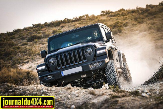 4s4 Proyect propose un kit suspension Bilstein pour la Jeep Wrangler JL