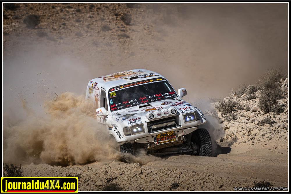 Fenix Rally 2021, étape 4 : la marathon