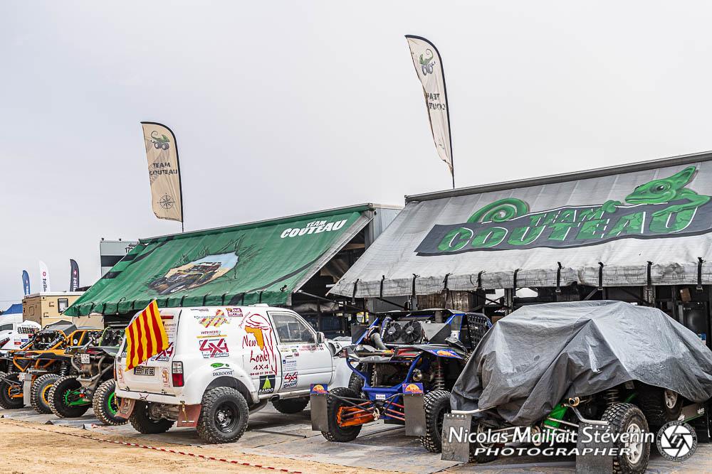 Camion assistance logistique rallye raid Couteau