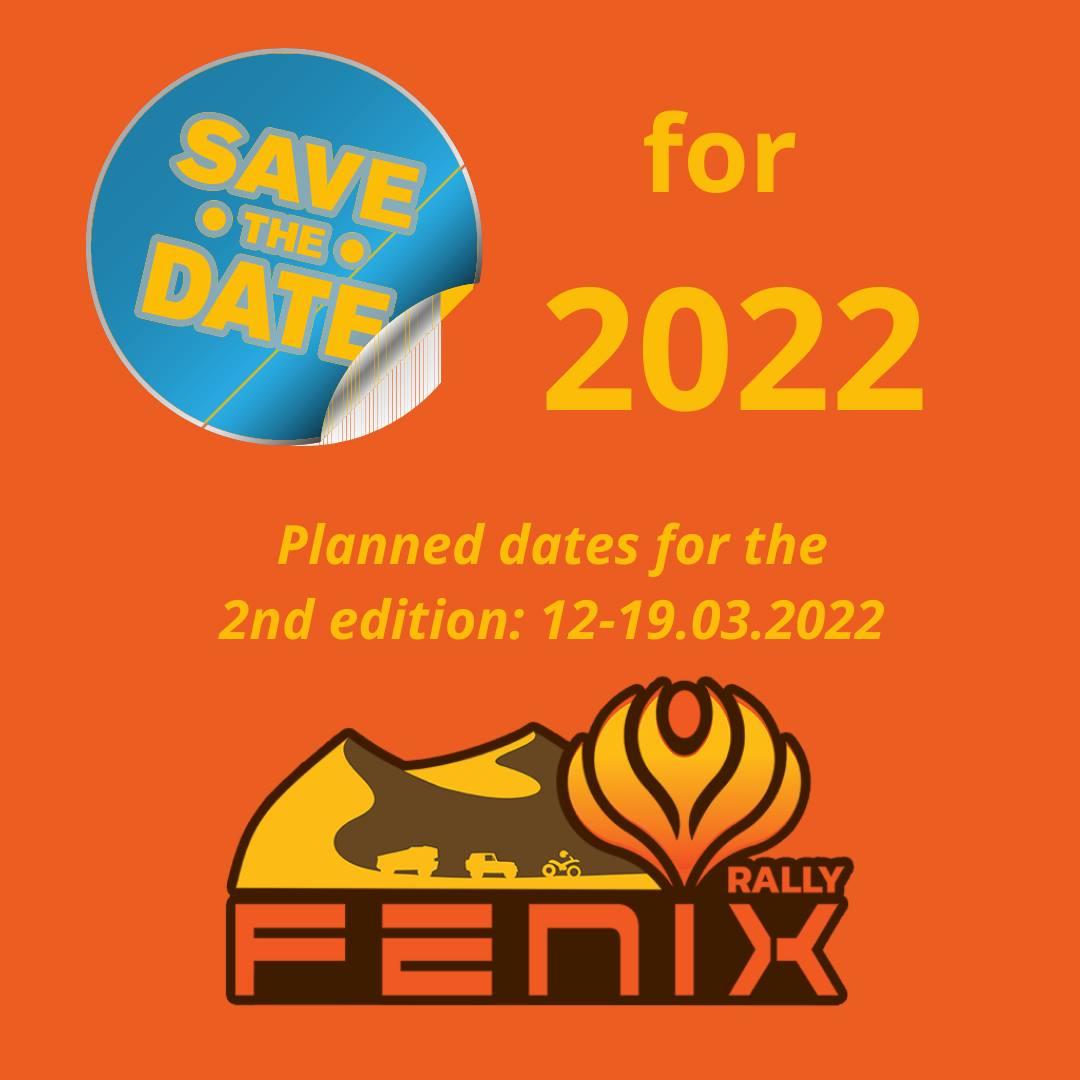 Dates du Fenix Rally 2022