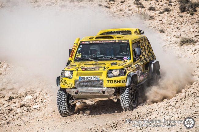 Desert Warrior étape 5 Fenix Rally 2021