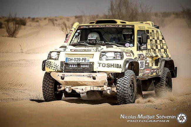 Desert Warrior Fenix Rally 2021 étape 2