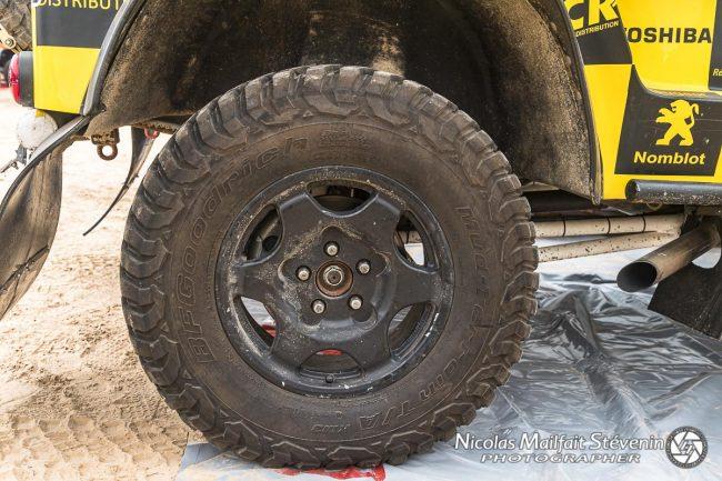 Pneus BF Goodrich TA KM2c'est un profil mixte AT qui roule bien sur piste sèche