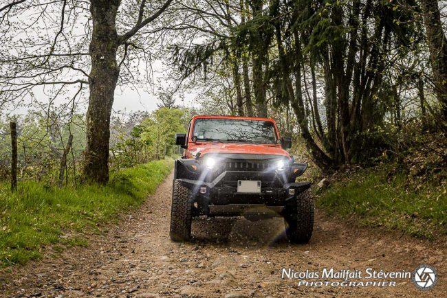 balade en Jeep sur les contreforts des monts du lyonnais