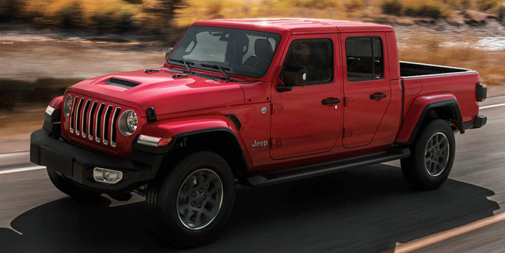Jeep Gladiator 4 places pas de malus